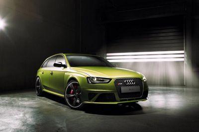 Audi exclusive представил единичный универсал rs4 avant