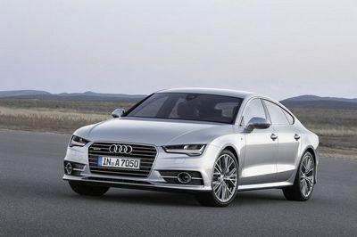 Audi представила рестайлинговый хэтчбек a7 sportback