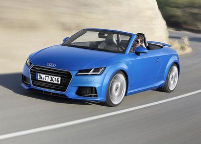 Audi рассекретила открытые версии tt и tts roadster