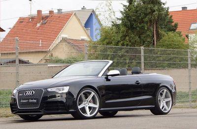 Audi rs5 convertible в исполнении senner tuning