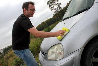 Автомойка на природе: чисто-чисто