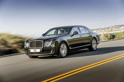 Bentley mulsanne обзавелся «заряженной» модификацией speed