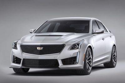 Cadillac представил новый 640-сильный седан cts-v