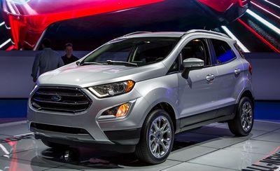 Ford ecosport получил новый дизайн для сша