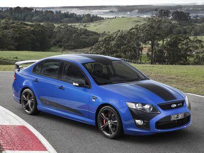 Ford performance vehicles представил «заряженный» седан gt f