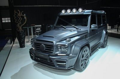 Франкфурт 2015: gronos g63 amg black edition от mansory