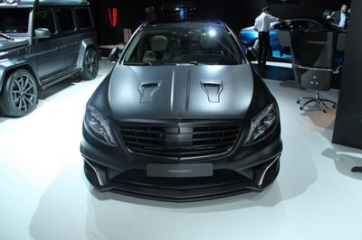 Франкфурт 2015: mercedes-benz s63 amg black edition от mansory