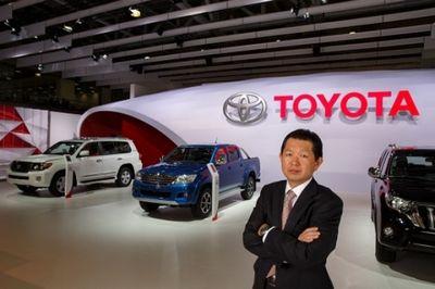 Фумитака кавасима, вице-президент ооо «тойота мотор» («автостат»)