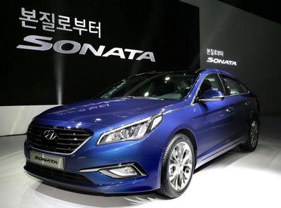 Hyundai рассекретил новое поколение седана sonata