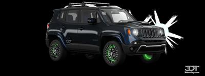 Jeep renegade обвинили в торможении на двух колесах (видео)