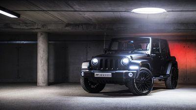 Jeep wrangler sahara chelsea truck company cj300 от a. kahn design