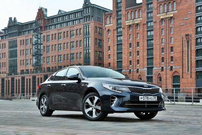 Kia объявила цены нового поколения бизнес-седана optima
