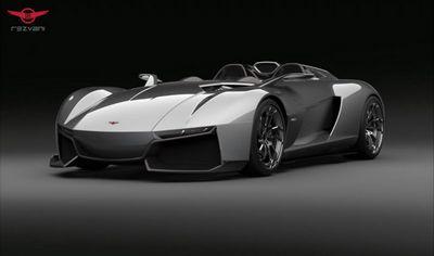 Компания rezvani motors рассекретила открытый суперкар beast