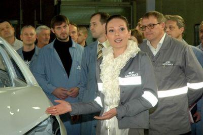 Кристина дубинина, руководитель по маркетингу и послепродажному обслуживанию проекта lada vesta («автосреда»)