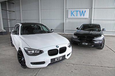 Ktw tuning продает два эксклюзивных хэтчбека bmw 116i