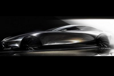 Купе vision mercedes-maybach 6 оказалось 750-сильным электромобилем