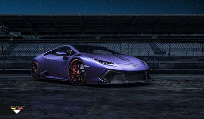 Lamborghini huracan novara от мастерской vorsteiner