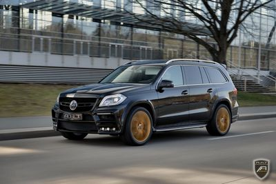 Mercedes-benz gl в тюнинге ателье a.r.t. tuning