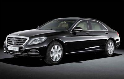 Mercedes-benz представил бронированный лимузин s600 guard