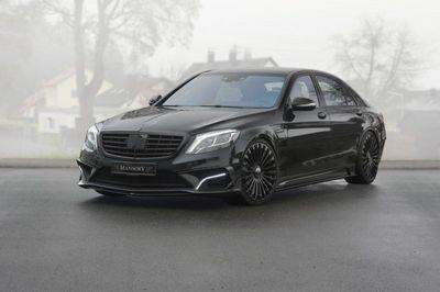 Mercedes-benz s63 amg в тюнинге mansory