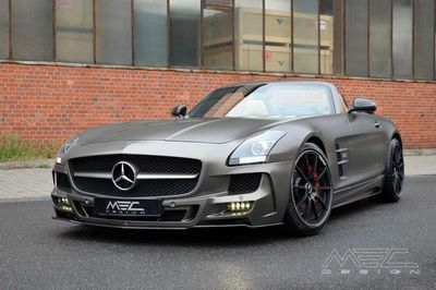 Mercedes-benz sls amg roadster monza grey от mec design