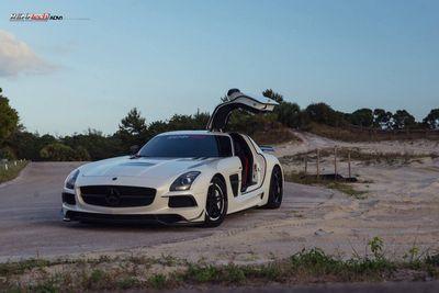 Mercedes sls amg black series от renntech