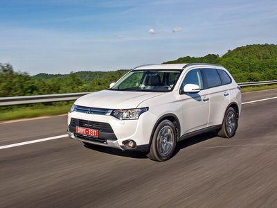 Mitsubishi покажет в париже гибридный концепт с запасом хода более 1 200 км
