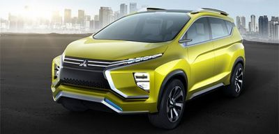 Mitsubishi представила концепт семиместного кроссовера - «автоновости»