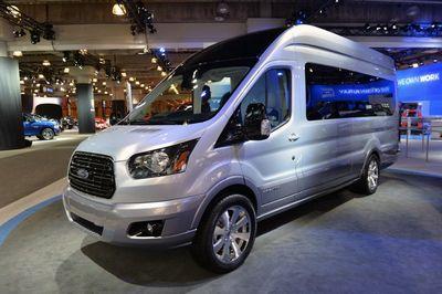 Нью-йорк 2014: ford transit skyliner concept