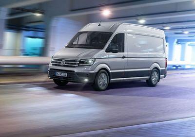Новый volkswagen crafter доступен для заказа в россии