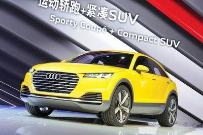 Пекин 2014: audi представила спортивный кроссовер tt offroad