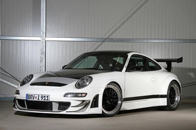 Porsche 911 (997) в доработке ателье noak tuning