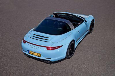 Porsche представила 385-сильное купе cayman gt4