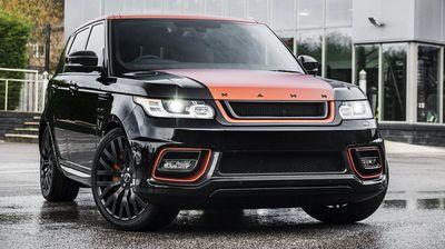 Range rover sport vesuvius edition от kahn design