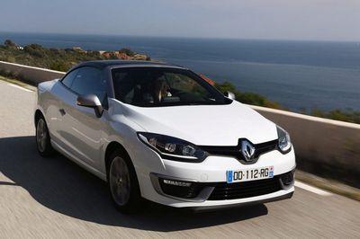 Renault представил рестайнлинговый вариант кабриолета megane cc