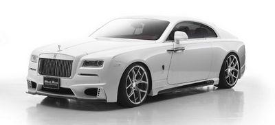 Rolls-royce wraith black bison edition от wald international