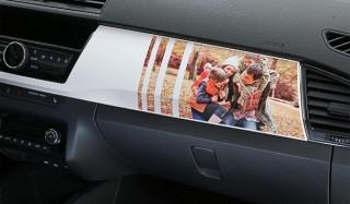 Skoda украсит fabia фотографиями автовладельцев
