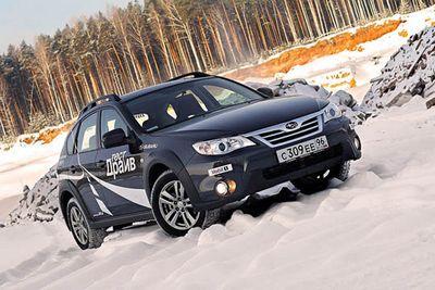 Subaru impreza xv: увеличение