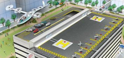 Uber разработает беспилотное летающее такси - «автоновости»