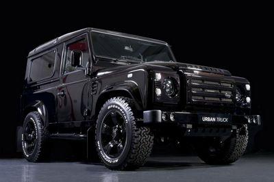 Urban truck представил land rover defender ultimate edition
