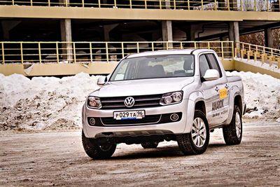 Volkswagen amarok: резкие движения