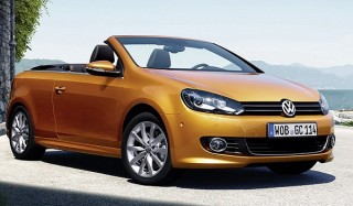Volkswagen обновил кабриолет golf