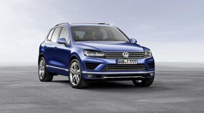Volkswagen покажет в пекине обновленный touareg